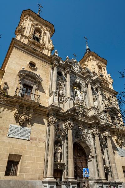 Basilica-San-Juan-de-Dios-church-exterior-Granada-Spain - Photographs of Granada, Spain