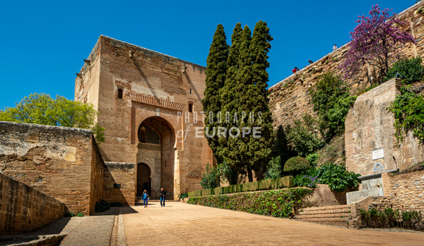 Gate-of-Justice-Puerta-de-la-Justicia-Alhambra-Palace-Granada-Spain - Photographs of Granada, Spain