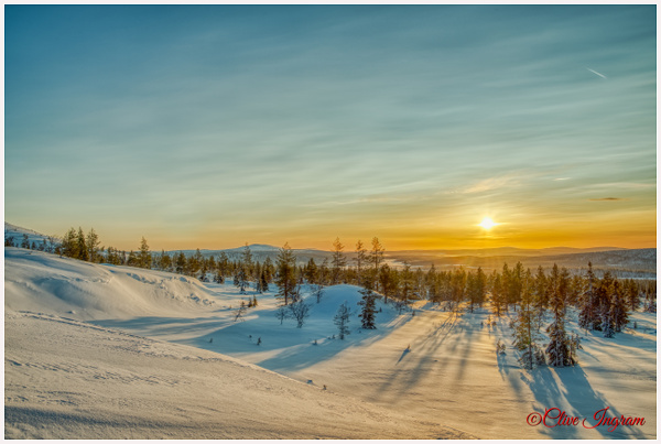 Fell scene in winter - Arctic - Ingymon Photography