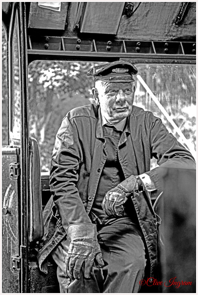 The Engine Driver - People - Ingymon Photography