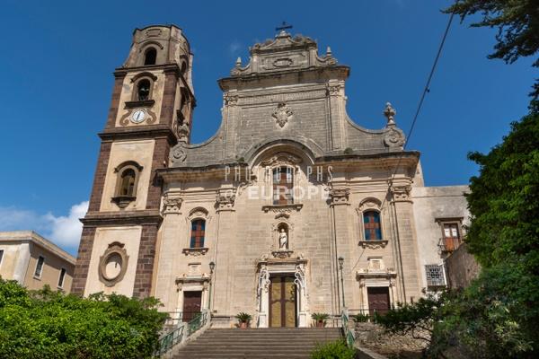 Co-Cathedral-of-Saint-Bartholomew-Lipari-Italy - Photographs of the Aeolian Islands, Italy