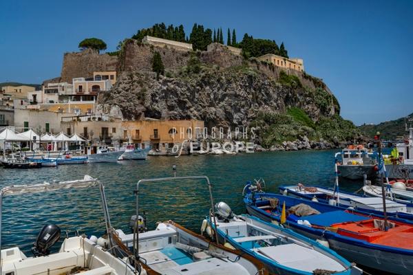 Acropolis-Lipari-Aeolian-Islands-Italy - Photographs of the Aeolian Islands, Italy