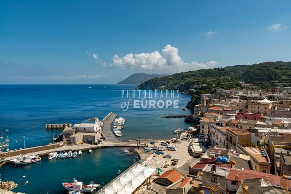 Lipari-old-port-Lipari-Aeolian-Islands-Italy - Photographs of the Aeolian Islands, Italy