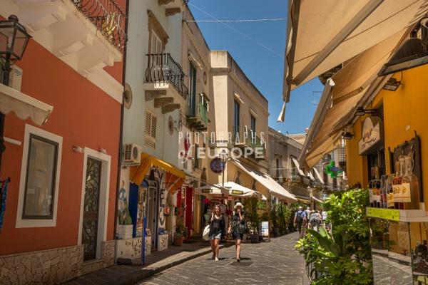 Shopping-street-Lipari-Aeolian-Islands-Italy - Photographs of the Aeolian Islands, Italy