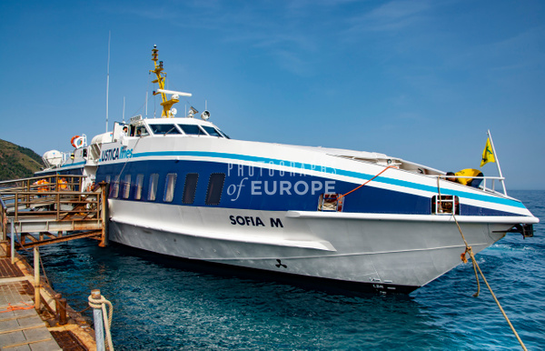 Sofia-M-fast-ferry-Aeolian-Islands-Italy - Photographs of the Aeolian Islands, Italy