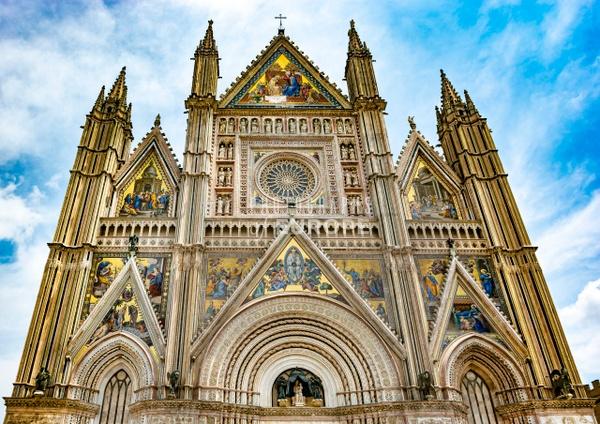 Cathedral-in-Orvieto-Duomo-di-Orvieto-Umbria-Italy - Photographs of Umbria, Italy