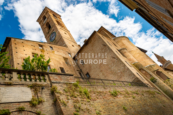 Ducal-Palace-of-Urbino-Marche-Italy-3 - Photographs of Umbria, Italy