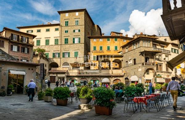 Piazza-della-Repubblica-Urbino-Marche-Italy - Photographs of Umbria, Italy