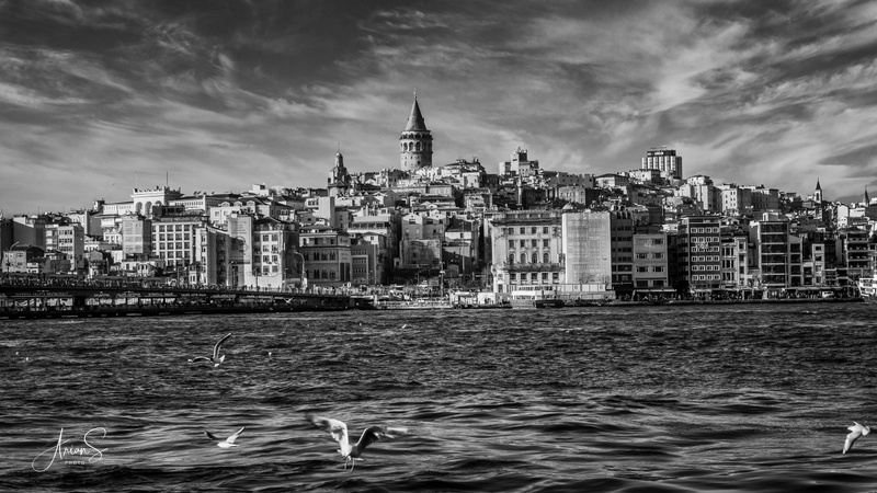 The Bosphorus and The Galata Tower, Istanbul