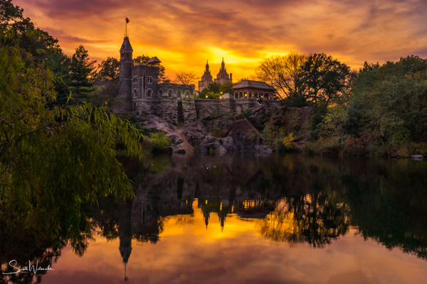 Belvedere Castle at Golden Hour