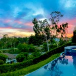 Sunset over Yorba Linda 202006