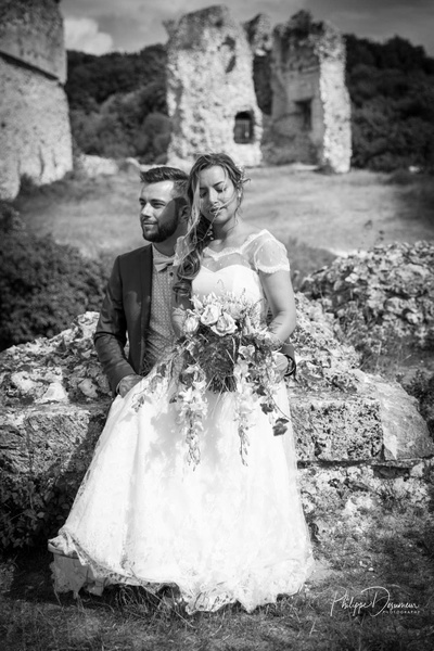 wedding-normandy-shooting couple by Philippe DESUMEUR