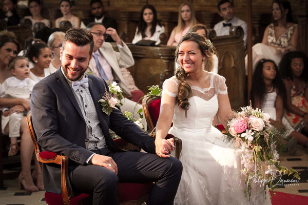 Wedding-Normandy-Église-Mariage by Philippe DESUMEUR