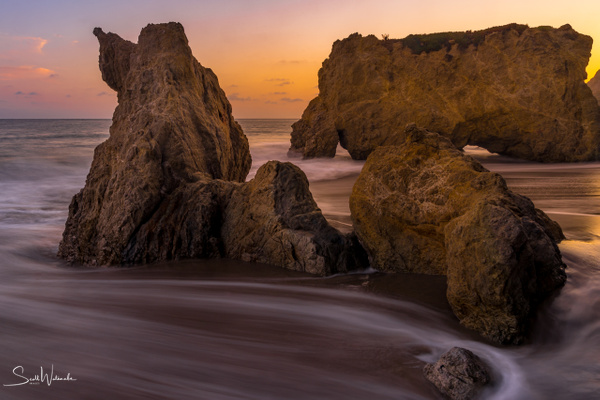 El Matador Beach  - Poodle or Rock