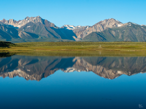 Lake Crowley HDR by Bruce Crair