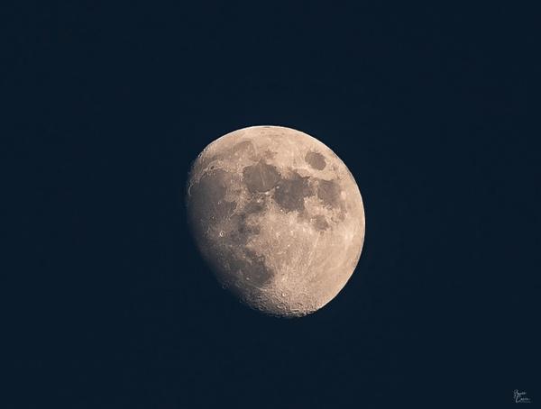 Three-Quarters Moon GPAI by Bruce Crair