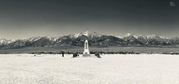 Dark Monument at Manzanar2 by Bruce Crair