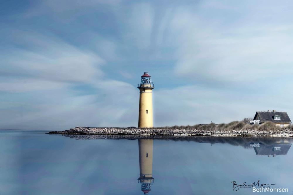 Omø lighthouse Demmark