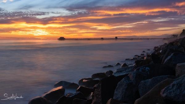 Oceanside Pier (Golden Hour) (2020) 2 by...