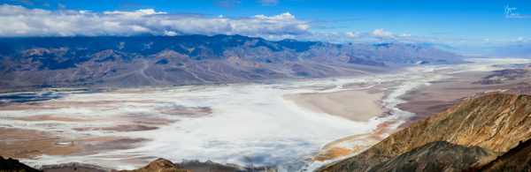 Badwater Basin by Bruce Crair