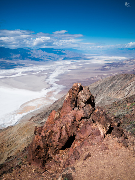 Dantes Peak to Death Valley by Bruce Crair
