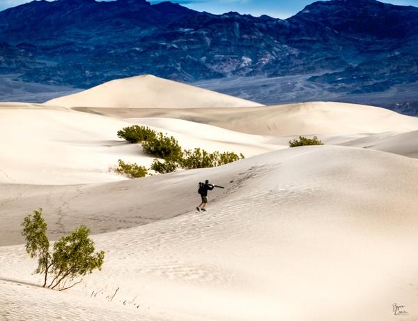 Mesquite Flats Sand Dunes by Bruce Crair