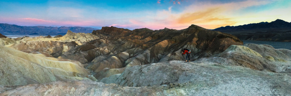 Photography at Zabriskie Point by Bruce Crair