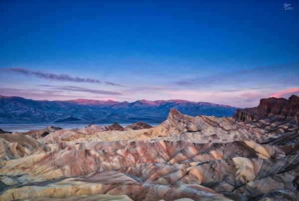 Sunrise at Zabriskie Point by Bruce Crair