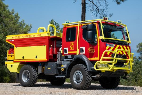 Forest Fire Engine Saint Paul - Emergency Vehicles - Michel Voogd Photography