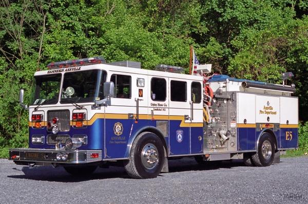 Engine Annville - Emergency Vehicles - Michel Voogd Photography