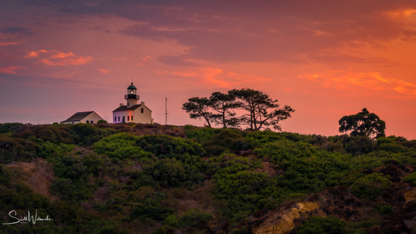 Old Point Loma Lighthouse 1 by ScottWatanabeImages