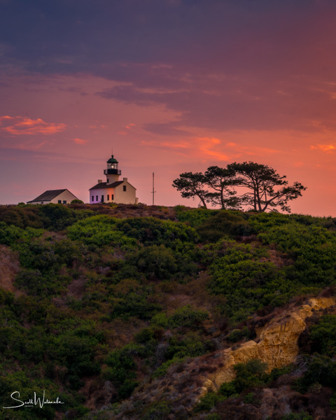 Old Point Loma Lighthouse 2 by ScottWatanabeImages