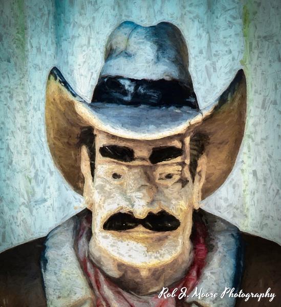The Cowboy - Art - Rob J Moore Photography