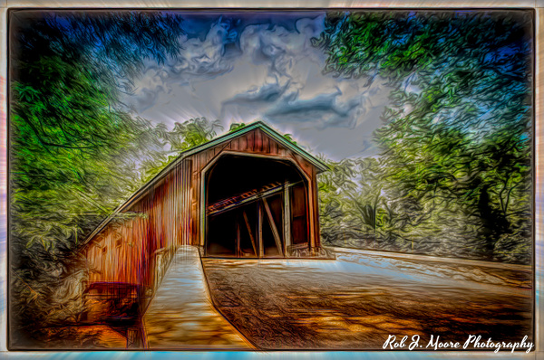 Old Bridge 02 - Art - Rob J Moore Photography