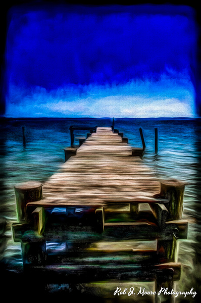 The Pier - Art - Rob J Moore Photography
