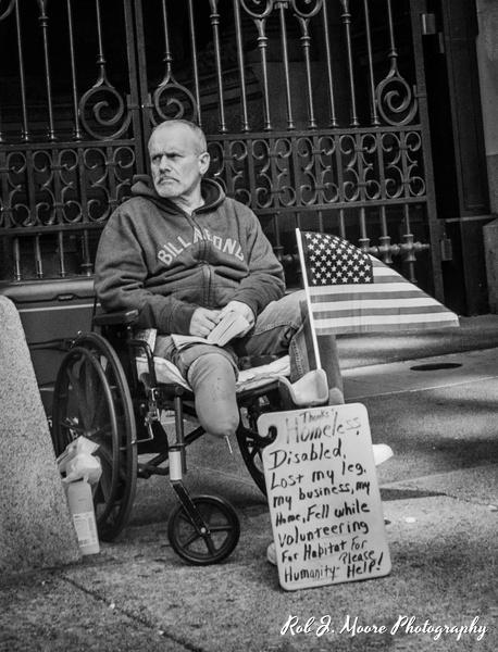 Homeless - Philadelphia - Robert Moore Photography
