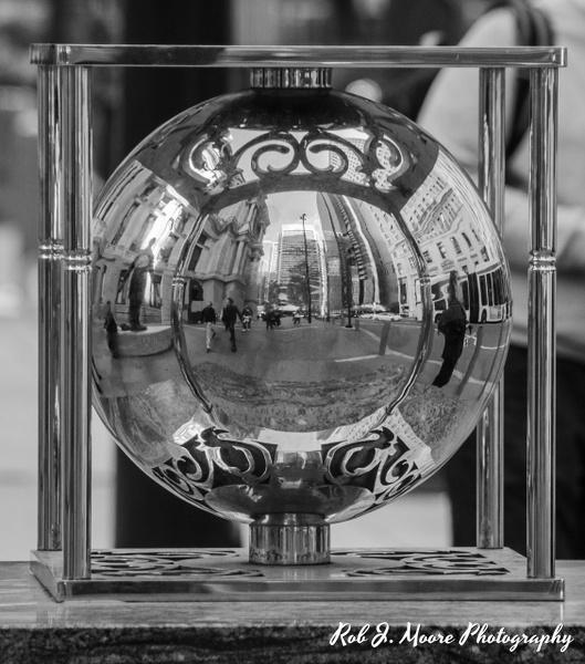 Reflective Ball - Philadelphia - Robert Moore Photography
